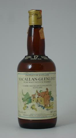 Macallan-Glenlivet-17 year old-1962