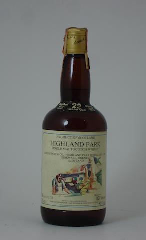Distilled May 1957, bottled July 1979.