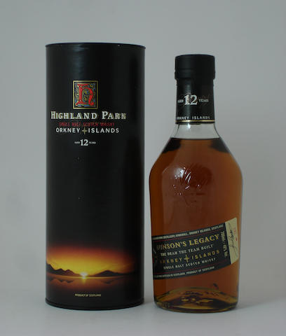 Highland Park Eunson's Legacy-12 year old