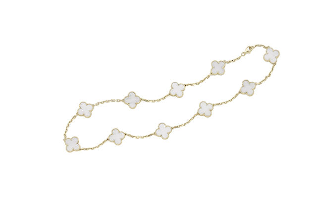 An 'Alhambra' necklace