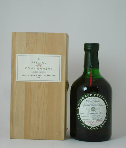 Alfred Lamb Special Reserve Rum-1949