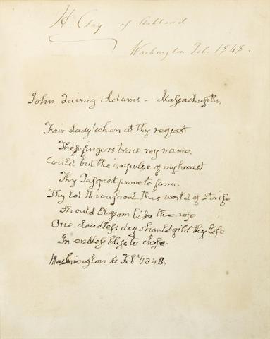 Autograph Manuscript Signed (