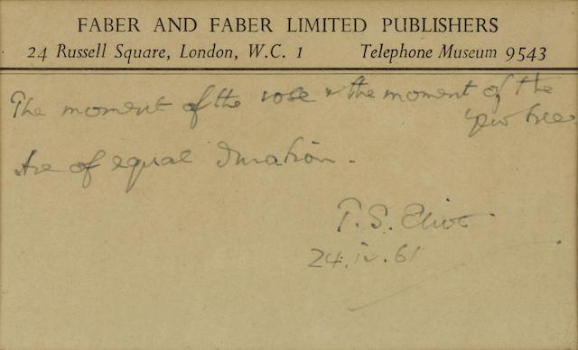 Autograph Quotation