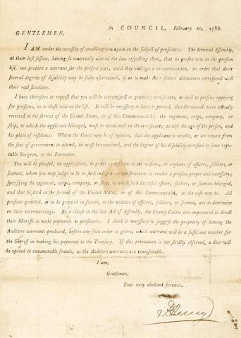 Printed Circular Letter