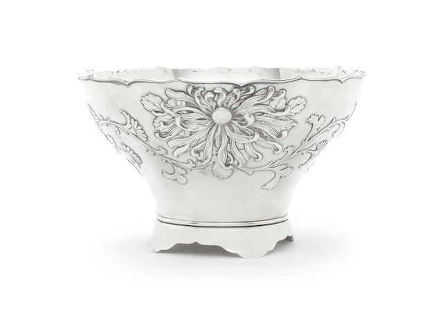 An early 20th century Chinese silver bowl