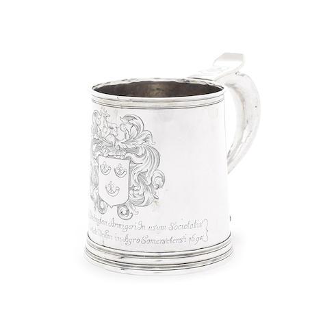 A William and Mary silver mug