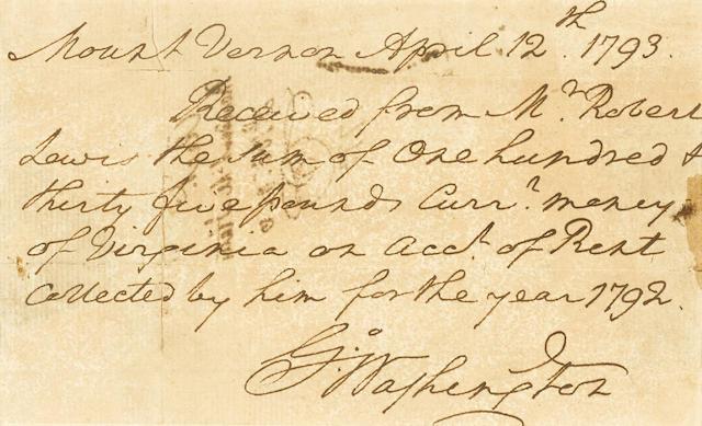 Autograph Document