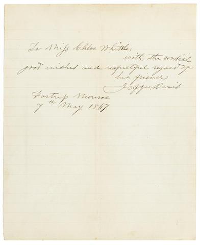 Autograph Note