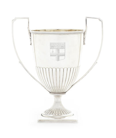 A George III silver two-handle cup