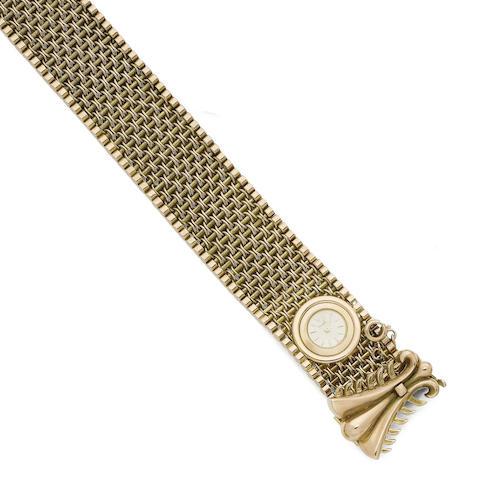 A cocktail wristwatch