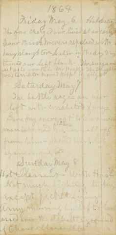 CIVIL WAR DIARY AND LETTERS.