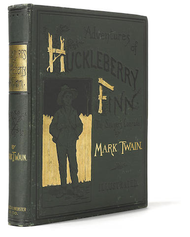 Adventures of Huckleberry Finn (Tom Sawyer's Comrade). New York: Charles L. Webster and Co.