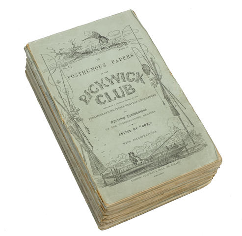 The Posthumous Papers of the Pickwick Club. London: Chapman and Hall, April 1836-November 1837.