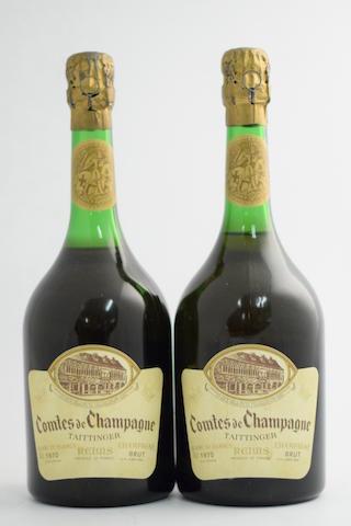 Taittinger Comtes de Champagne, Blanc de Blancs 1970 (2)