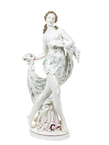 A German porcelain figure