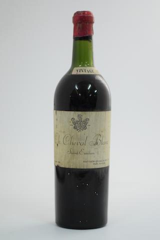 Château Cheval Blanc 1947, St Emilion 1er Grand Cru Classé, UK Matthew Gloag & Sons, Perth (1)