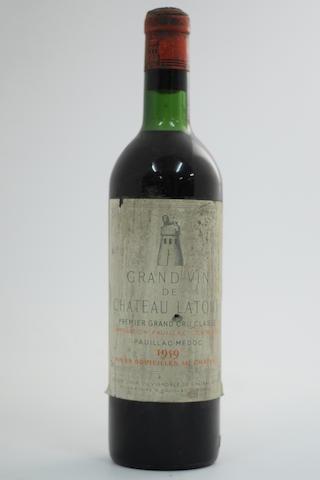 Château Latour 1959, Pauillac 1er Grand Cru Classé (1)