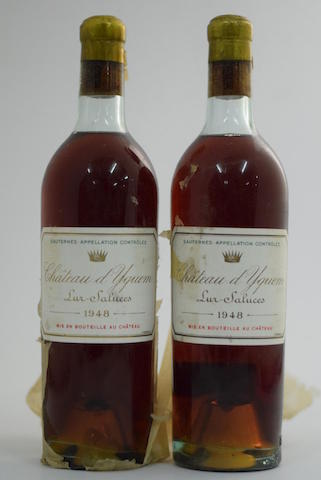 Château d'Yquem 1948, Sauternes 1er Grand Cru Classé (2)