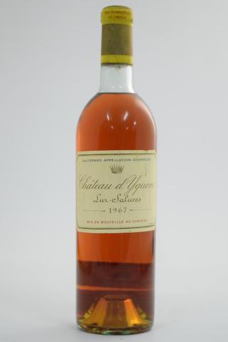 Château d'Yquem 1967, Sauternes 1er Grand Cru Classé (1)