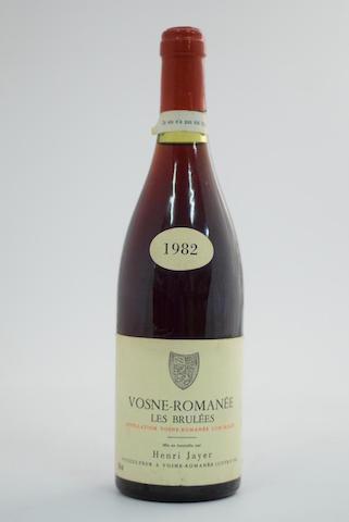 Vosne-Romanée 1er Cru, Les Brulées 1982, Domaine Henri Jayer (1)
