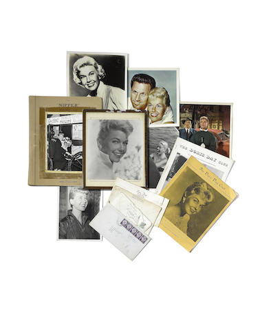 Doris Day: a collection of signed letters, photographs and other memorabilia