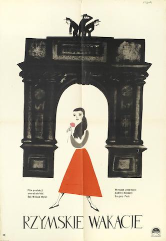 Roman Holiday: a polish film poster