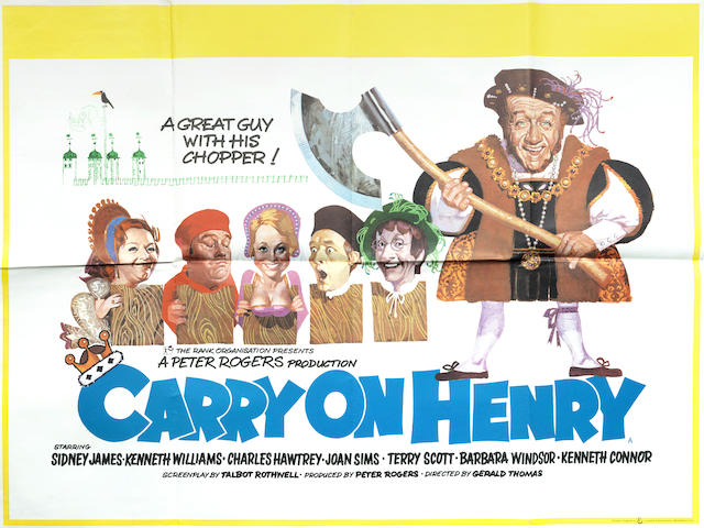 Carry On: A collection of 8 Carry On posters