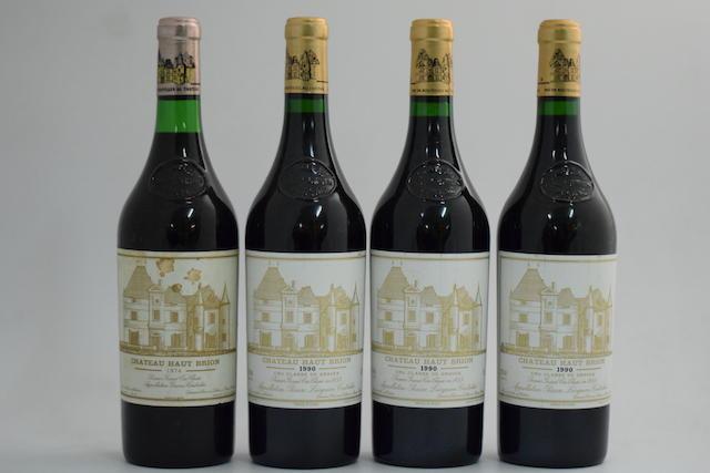 Château Haut-Brion 1974 (1); Château Haut-Brion 1990, Pessac-Léognan 1er Grand Cru Classé (3)