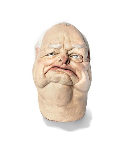 Spitting Image: A Winston Churchill puppet