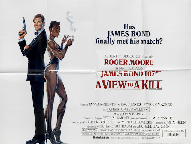 James Bond: a collection of eight posters