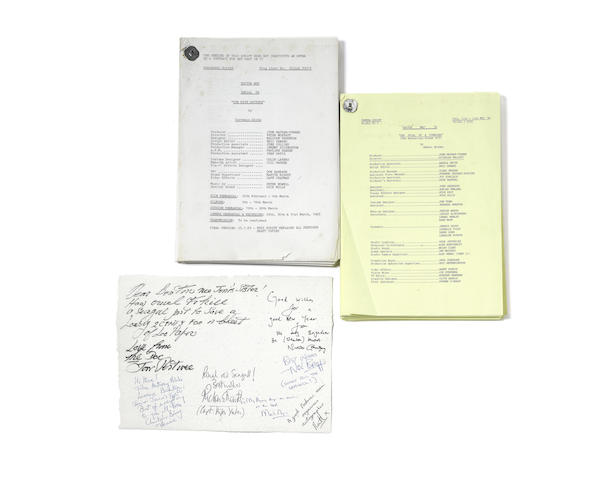 Doctor Who - The Trial of a Timelord and the Five Doctors: a camera script and a rehearsal script
