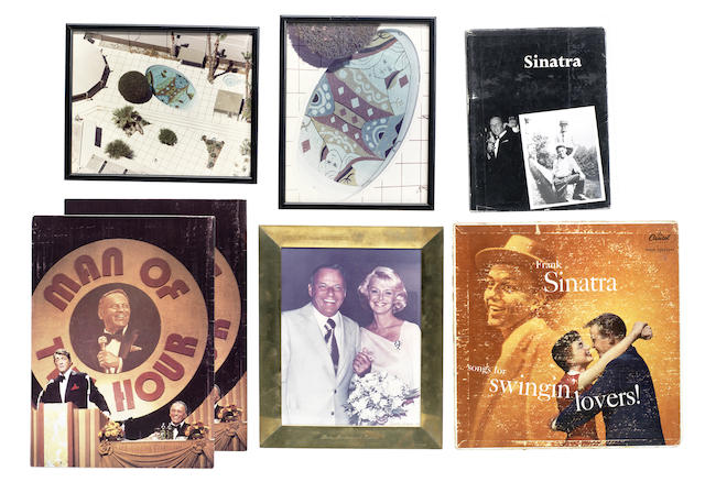 Frank Sinatra: A collection of autograph and other memorabilia