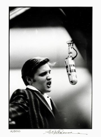 Elvis Presley: Alfred Wertheimer (American, b. 1929), a set of six gelatin silver prints