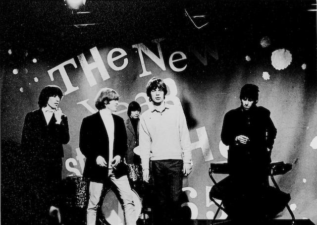 The Rolling Stones: A group of photographs, believed unpublished, taken at the Rediffusion TV show, 'The New Year Starts Here