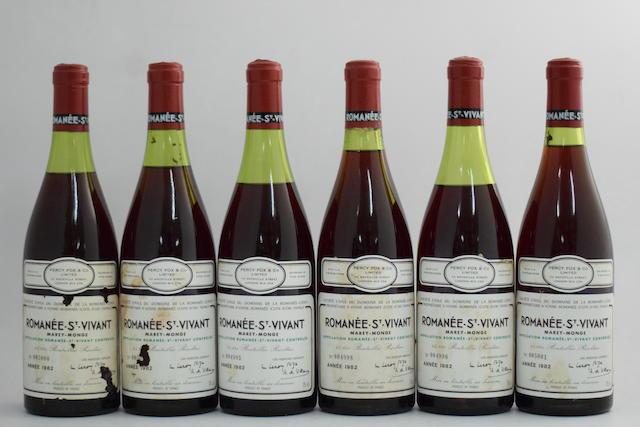 Romanée-St-Vivant 1982, Domaine de la Romanée-Conti (12)