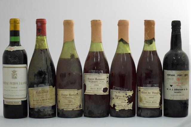Château Pichon Lalande 1966, Pauillac 2me Cru Classé (1)