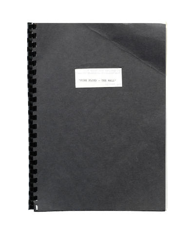 Pink Floyd - The Wall: A draft screenplay