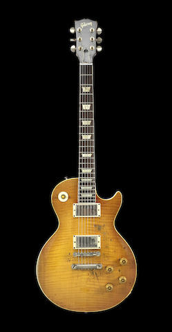 Paul Kossoff/Free: A 1959 Gibson Les Paul Standard with sunburst finish owned by Paul Kossoff