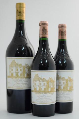 Château Haut-Brion 1994 (1 magnum) Château Haut-Brion 2001, Pessac-Léognan 1er Grand Cru Classé (2)