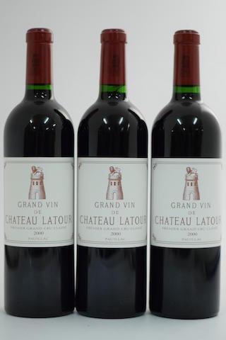 Château Latour 2000, Pauillac 1er Grand Cru Classé (3)
