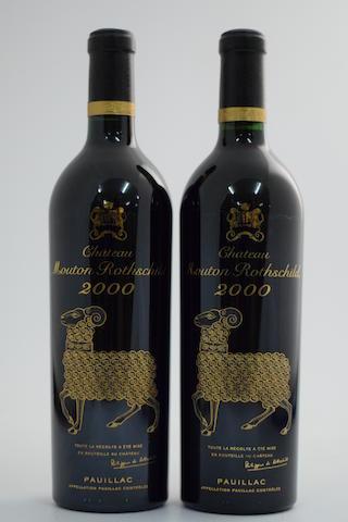 Château Mouton Rothschild 2000, Pauillac 1er Grand Cru Classé (2)