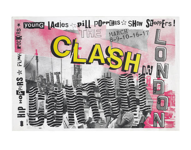 The Clash: Two concert posters