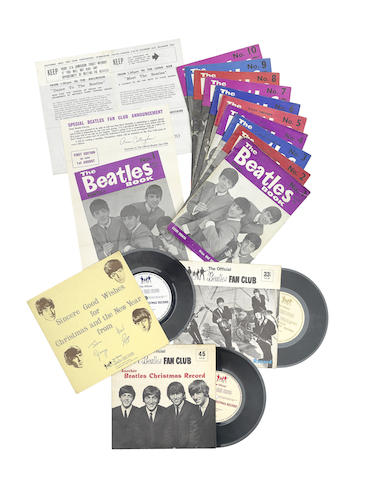The Beatles: Fan Club and other memorabilia