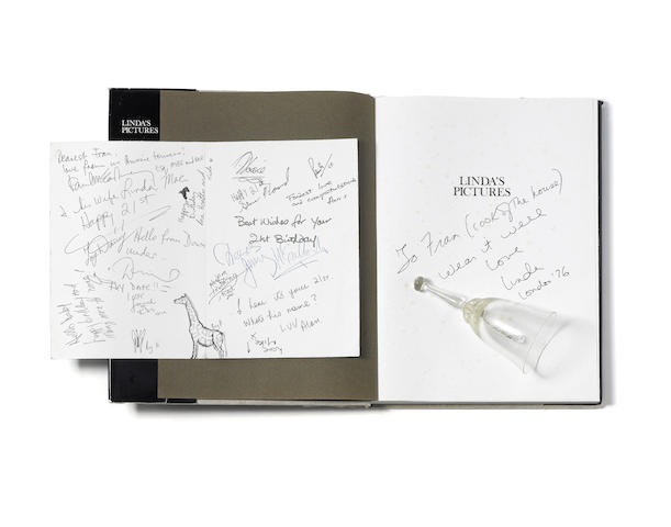 Paul McCartney/Wings: Autograph and other memorabilia