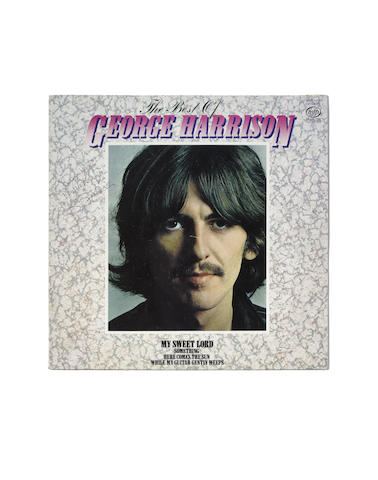 George Harrison: An autographed copy of the 1980 album 'The Best Of George Harrison