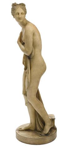A Continental terracotta figure of the Venus Italica