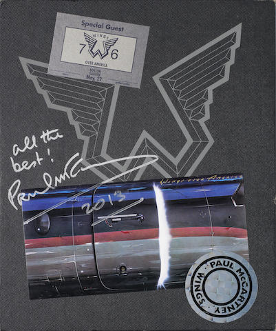 Paul McCartney/Wings: Wings Over America deluxe limited edition box set signed