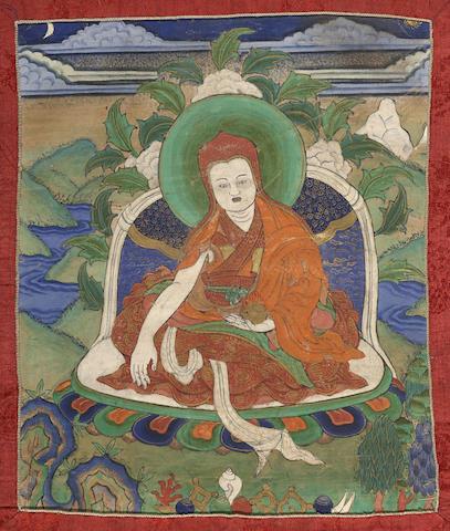 A thangka of Drogön Chögyal Phagpa