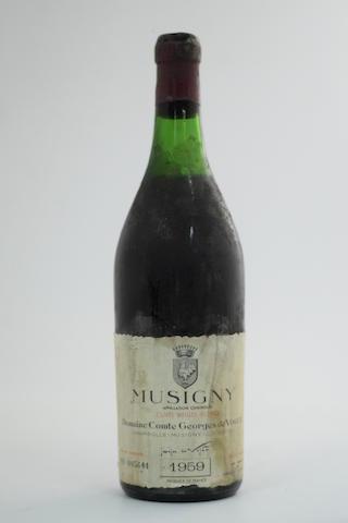 Musigny Vieilles Vignes 1959, Domaine Comte Georges de Vogüé, UK Hedges & Butler (1)