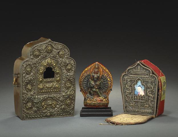 Three devotional objects